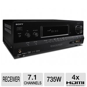 Sony STR-DH720 7.1 Channel A/V Receiver