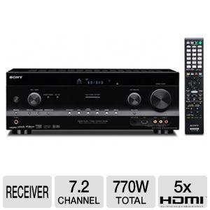 Sony STR-DN1020 3D 7.2 Surround Sound AV Receiver