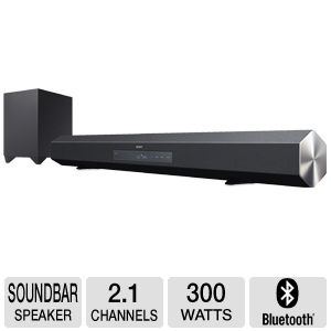 Sony HTCT260 2.1 Channel Soundbar Speaker
