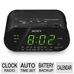 Sony ICFC218BLACK Clock Radio
