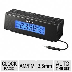 Sony ICF-C707 Clock Radio