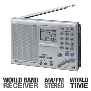 Sony ICF-SW7600GR World Band Receiver Radio