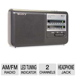Sony Portable AM/FM Radio
