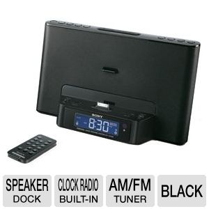 Sony ICF-CS15IPBLK iPhone/iPod Speaker Dock