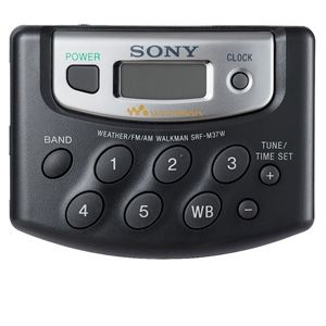 Sony SRF-M37W Walkman Digital Tuning Radio