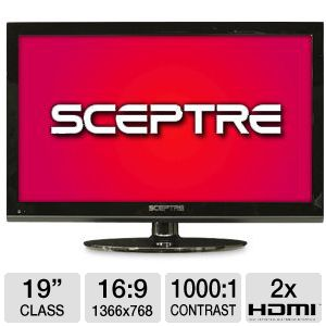 Sceptre E195BD-SHD 19&quot; LED HDTV/DVD Combo