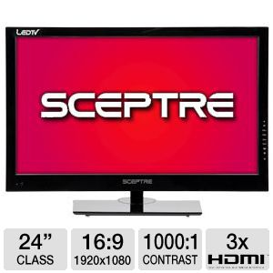 Sceptre 24&quot;  1080p 60Hz LED HDTV/DVD Combo 