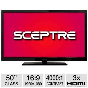 Sceptre X508BV-FHD 50&quot; 1080p 60Hz LCD HDTV