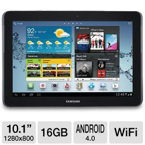 "Samsung Galaxy Tab 2 10.1"" 16GB Android Tablet"