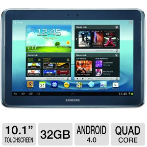 "Samsung Galaxy Note 10.1"" Quad-Core 32GB Tablet"