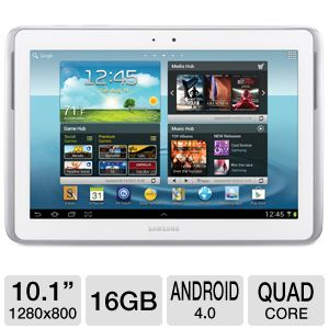 "Samsung Galaxy Note 10.1"" Quad-Core 16GB Ta REFURB"