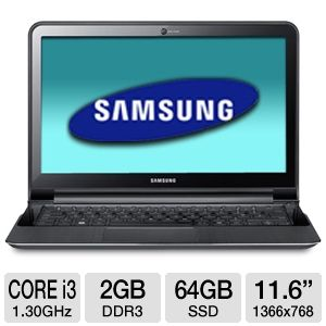 Samsung Series 9 11.6&quot; Core i3 64GB SSD Ultrabook