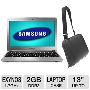 "Samsung 11.6"" 16GB WiFi Chromebook Bundle"