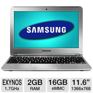 "Samsung 11.6"" 16GB WiFi Chromebook Refurbished"