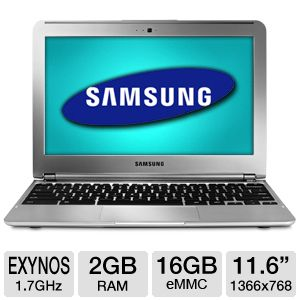 "Samsung 11.6"" 16GB WiFi + 3G Chromebook"