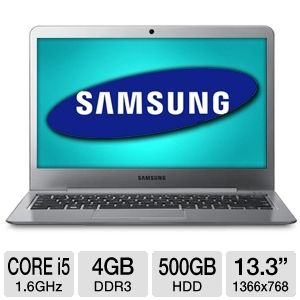 "Samsung 13.3"" Core i5 500GB HDD Ultrabook"