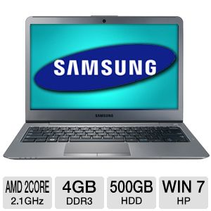 "Samsung Series 5 535 13.3"" AMD DC 500GB Slimbook"
