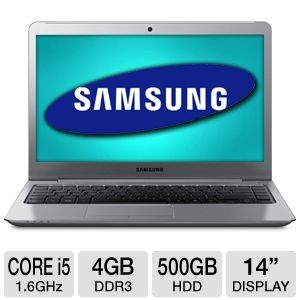 Samsung 14&quot; Core i5 4GB 500GB HDD Ultrabook