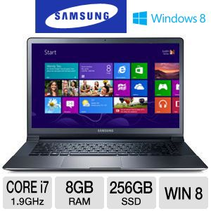 Samsung Core i7 8GB RAM 256GB SSD Ultrabook PC