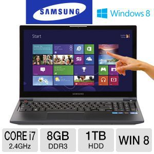 "Samsung 15.6"" Touchscreen Core i7 1TB HDD N REFURB"