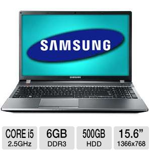 "Samsung Series 5 15.6"" Core i5 500GB Notebook"