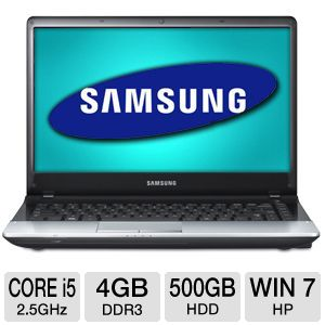 "Samsung 14"" Core i5 500GB HDD Notebook PC"