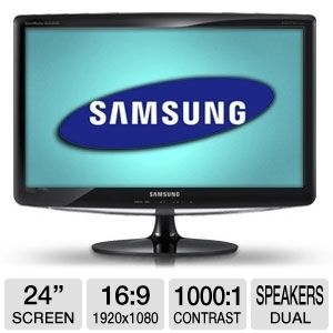 Samsung 24&quot; Full HD Widescreen TV Monitor