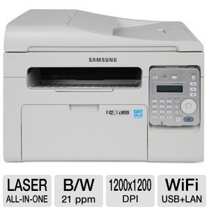 Samsung SCX-3405FW WiFi Mono Laser Multifunction 