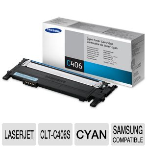 Samsung Cyan LaserJet Cartridge