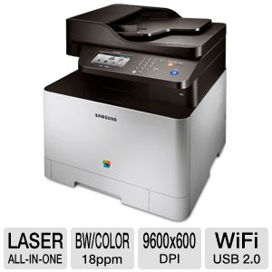 Samsung CLX4195FW WiFi Color Laser All-in-One