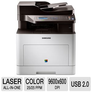 Samsung CLX-6260FD Color Laser All-in-One Printer