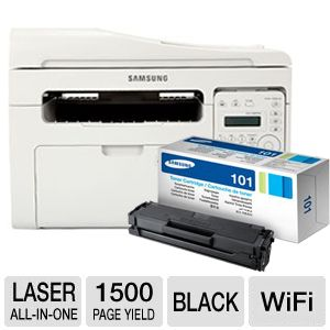 Samsung SCX3405FW Mono All-in-One & Extra toner