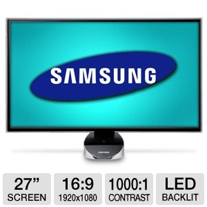 Samsung S27A750D 27&quot; Class 3D LED Backlit Monitor