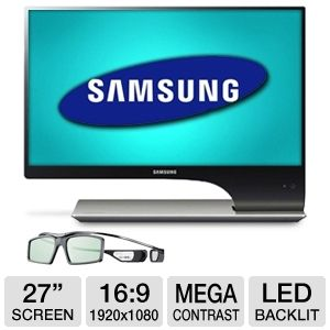 Samsung S27A950D 27&quot; Class LED 3D Monitor