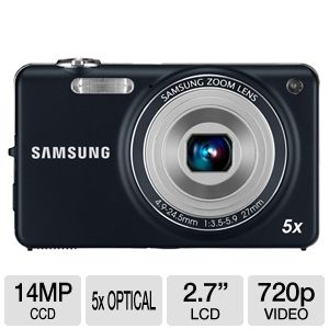 Samsung ST65 Blue 14MP Digital Camera