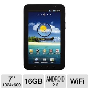 SAMSUNG Galaxy Tab 7&quot; WiFi Android Tablet