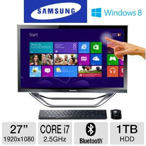 Samsung Core i7 1TB HDD 8GB RAM All-In-One PC
