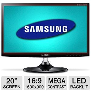 Samsung S20B350H 20&quot; Class Widescreen LED Monitor