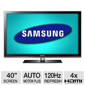 Samsung LN40D630 40&quot; 1080p 120Hz LCD HDTV 