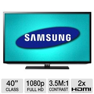 "Samsung 40"" 1080p 60Hz LED HDTV"