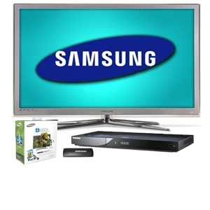 Samsung UN46C8000 46&quot; Class Ultra Slim Desi Bundle