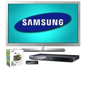 Samsung UN55C9000 55&quot; 3D LED Ultra Slim HDT Bundle