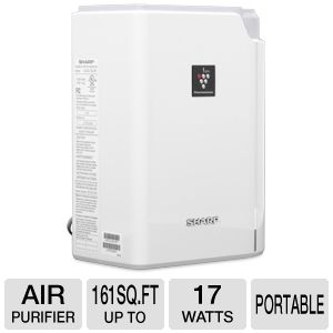 Sharp Plasmacluster� Ion Technology Air Purifier