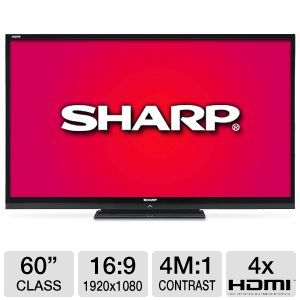 "Sharp Aquos� 60"" Class 1080p 120Hz LED HDTV"