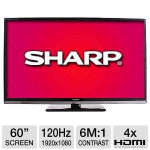 Sharp LC60LE830U 60&quot; 1080p 120Hz WiFi LED HDTV RB