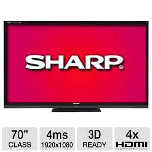 Sharp LC70LE735U 70&quot; 1080p LED 3D HDTV RB