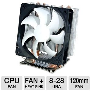 SilenX Effizio EFZ-120HA3 CPU Cooler