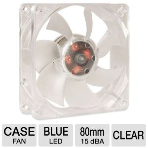 SilenX Effizio Silent Blue LED 80mm Case Fan