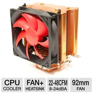 SilenX EFZ-92HA3 Effizio 92mm CPU Cooler
