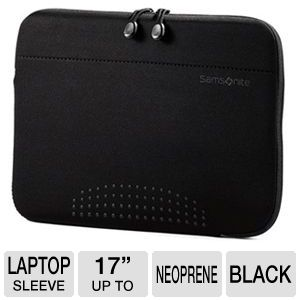 "Samsonite 43322-1041 Aramon NXT 17"" Laptop Sleeve"